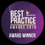 IR Society Best Practice Awards 2019