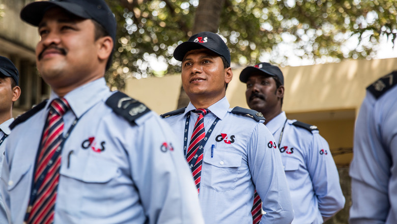 G4S guards in India