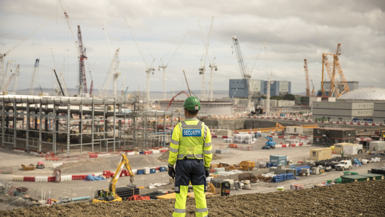 Enhanced Security Officer on site at Hinkley Point C