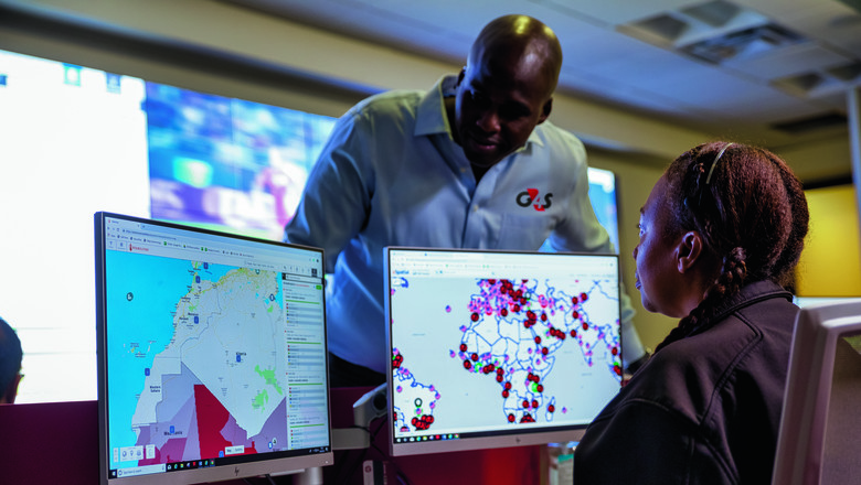 G4S's global security operations centre in the USA