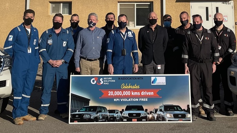 G4S drives 20 million safe kilometres for Basrah Gas Company in Iraq