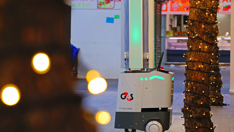 G4S launched an autonomous shortwave ultraviolet light robot that destroys up to 99.99 percent of bacteria and viruses.