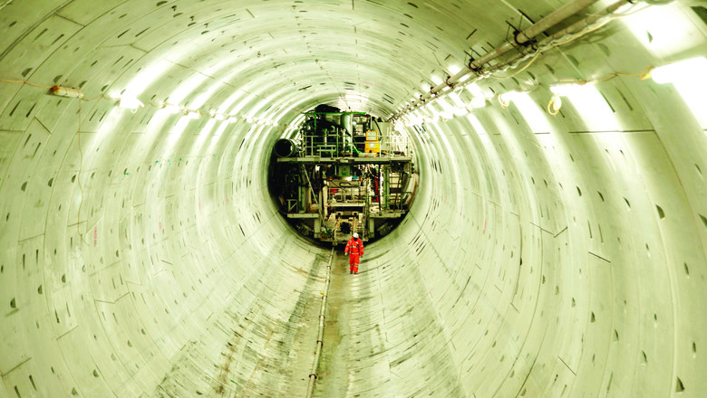 Thames Tideway super sewer tunnel