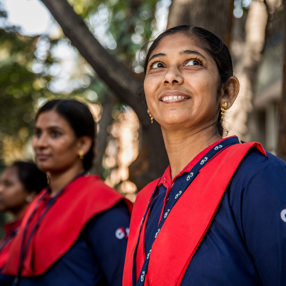 Female security guards in India