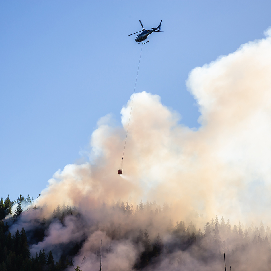 Controlling wildfires
