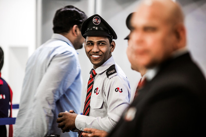 G4S Employee at airport