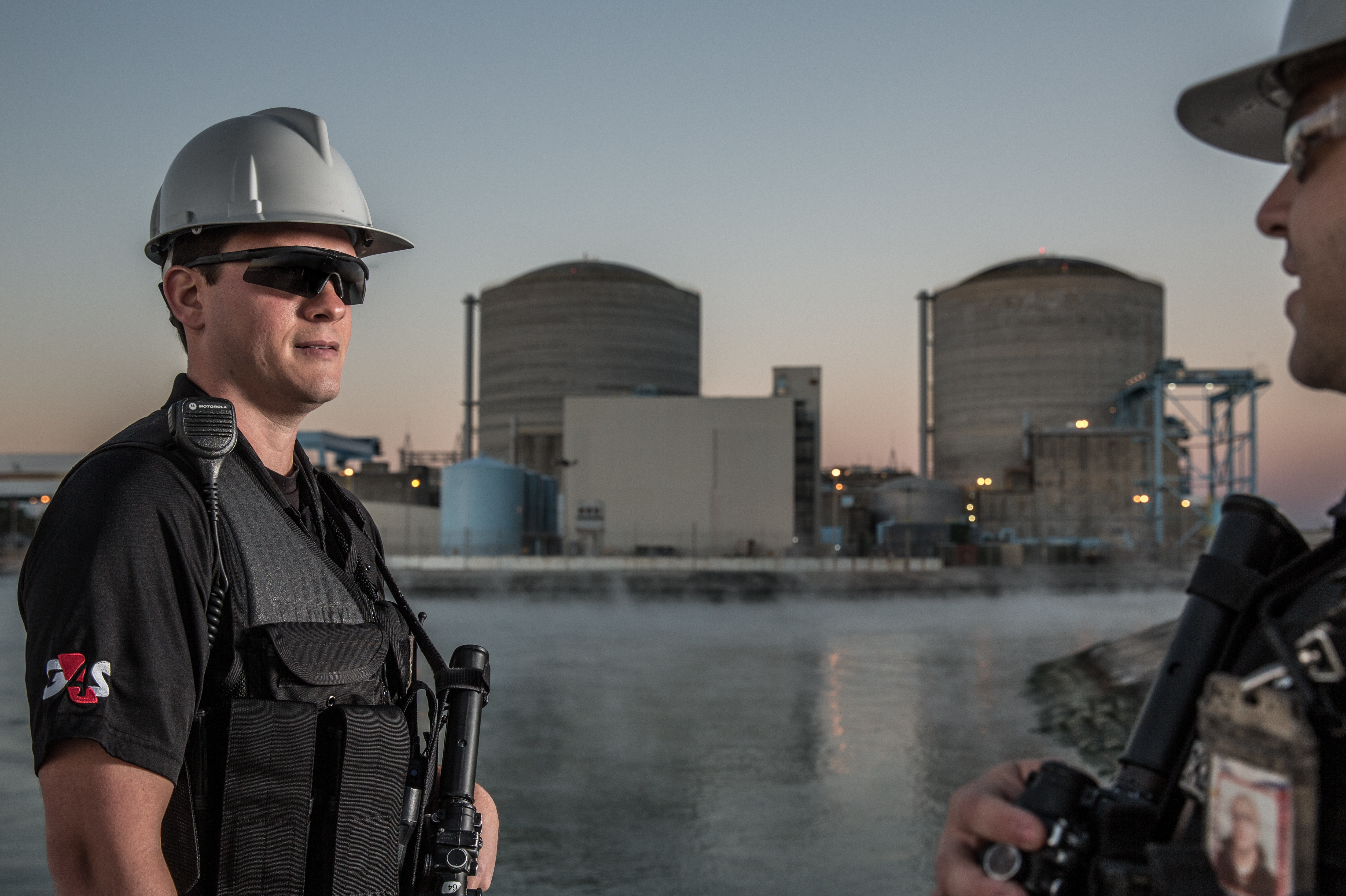 Security Patrols at US Nuclear Site.