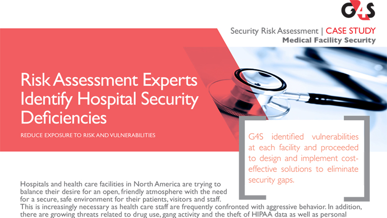 Security Risk Assessment
