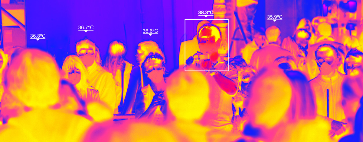 Thermal cameras are increasingly being used by companies around the world to halt the spread of Covid-19