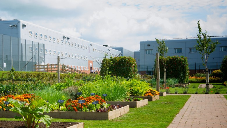 Gardens at HMP & YOI Parc