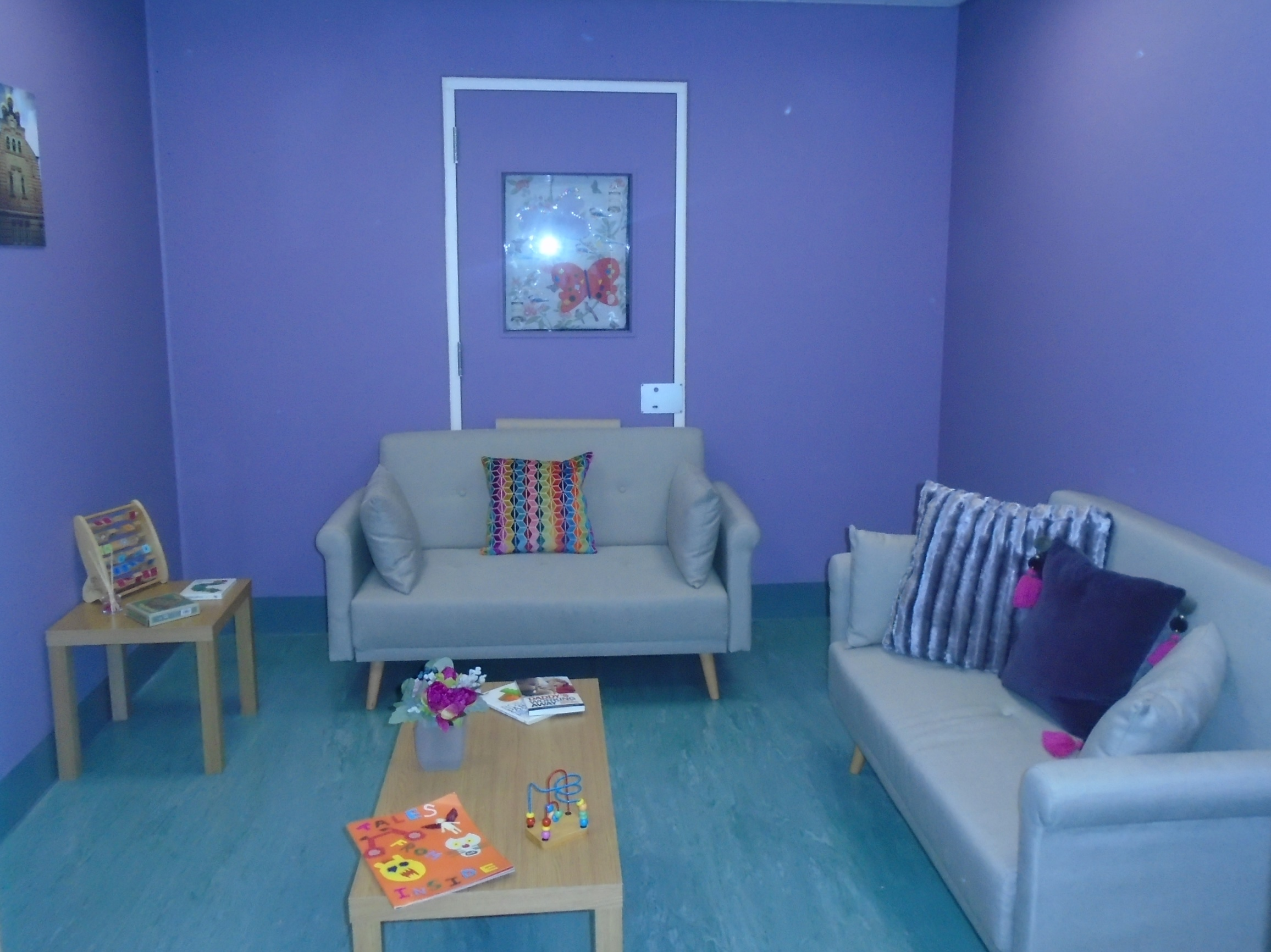 New family visiting room at HMP Oakwood