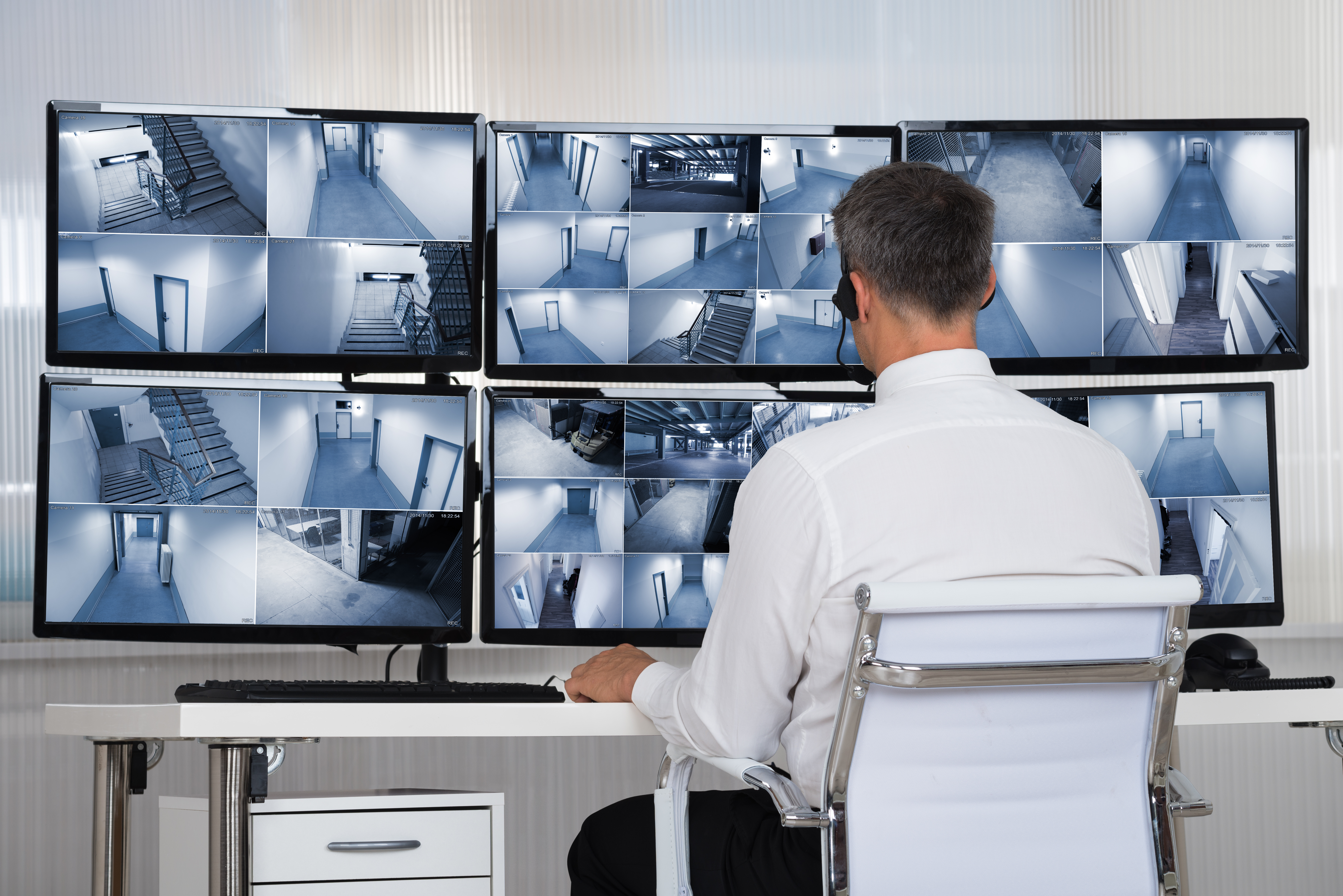 Monitoring, CCTV, security guard
