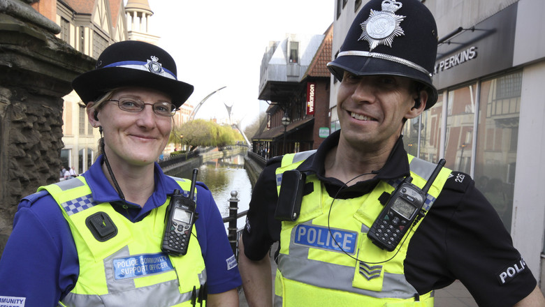 Lincolnshire police officers