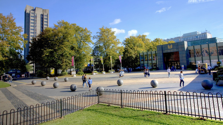 Coventry University campus ground