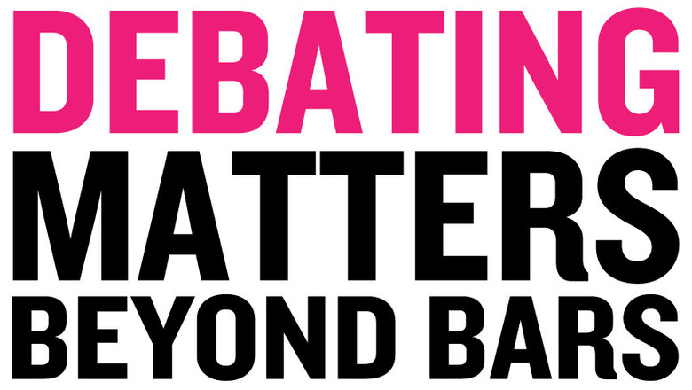 Debatting matters beyond bars