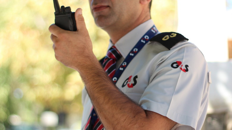 G4S Security officer