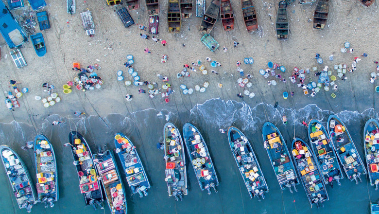 Boats in Asia