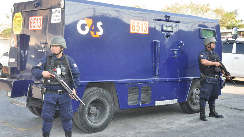 G4S Cash Vehicle