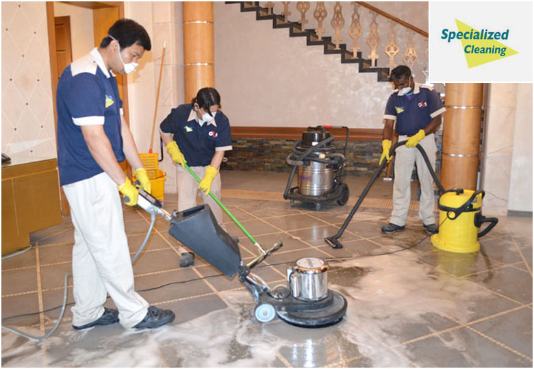 Group Cleaning Services : Specialized cleaning services consumer