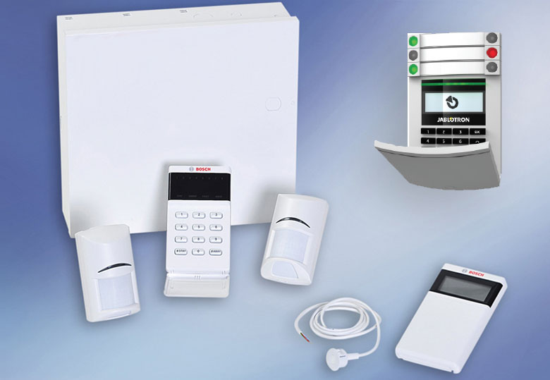 INTRUSION ALARM SYSTEMS