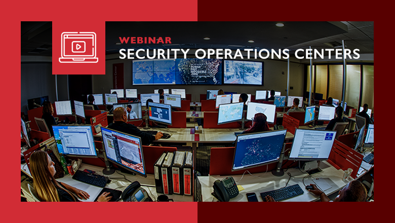 Webinar Security Operations Centers