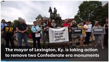 White Nationalists Reportedly Planning a Rally in Lexington to Oppose Removal of Statues