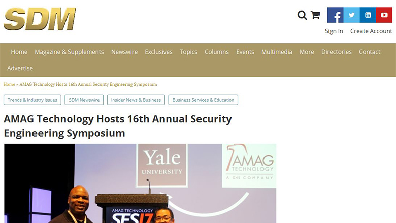 AMAG Hosts 16th Annual Security Engineering Symposium