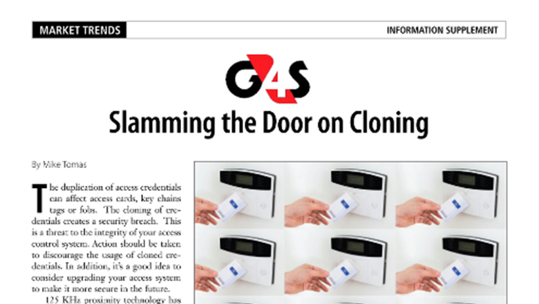 Slamming the Door on Cloning