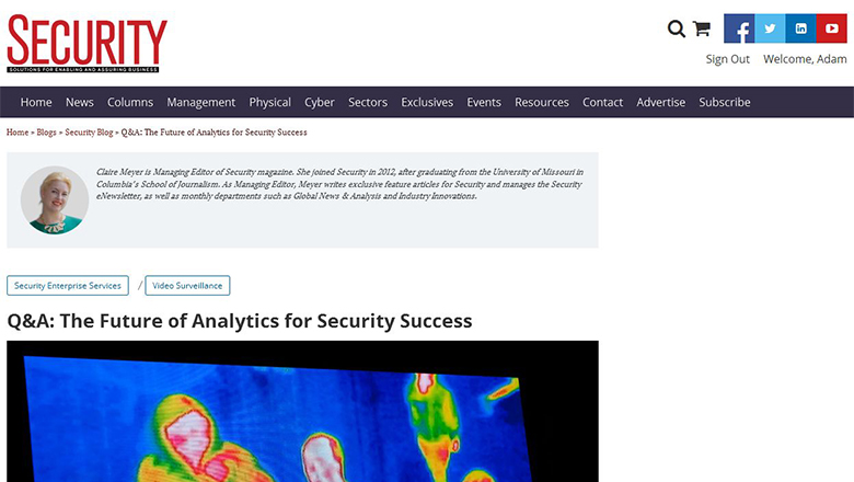 The Future of Analytics for Security Success