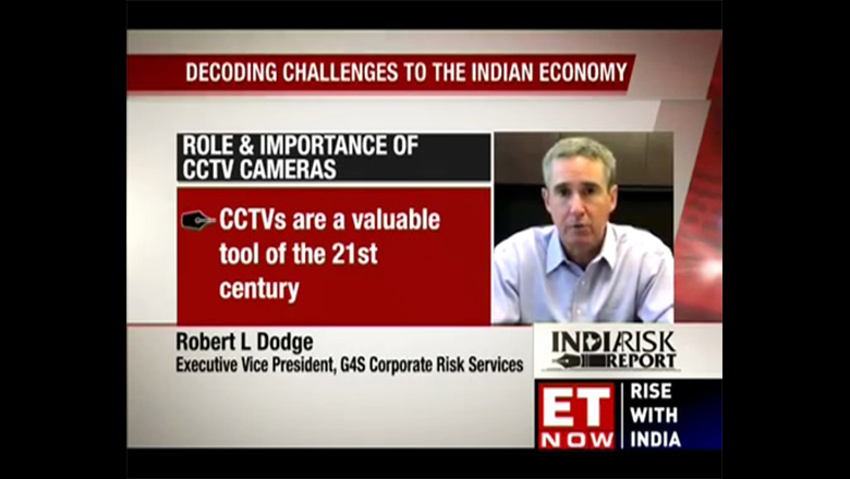 G4S' Robert Dodge Featured on India Television Segment about Video Surveillance Market