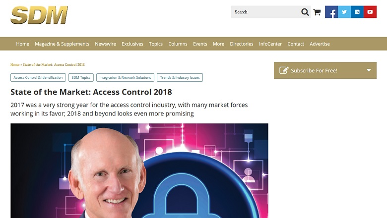 State of the Market Access Control 2018