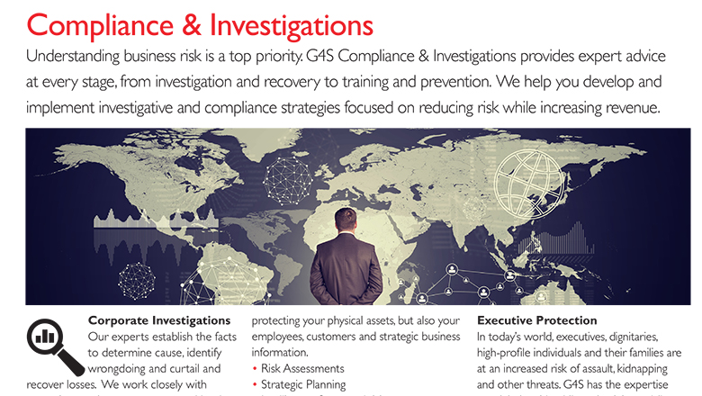 Compliance & Investigations