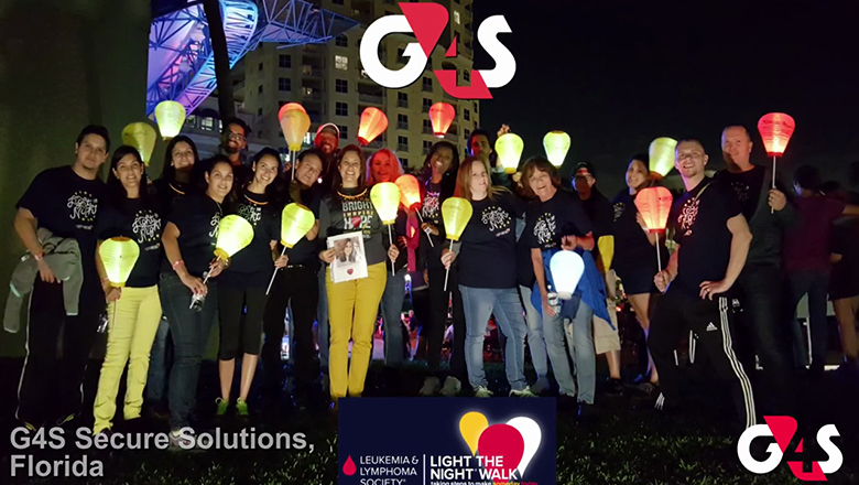 G4S Supports Light the Night Walk