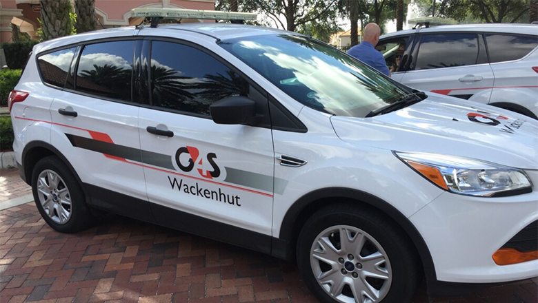G4S Wackenhut - Vehicle