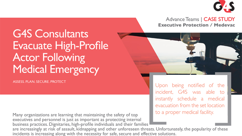 Executive Protection: MedEvac
