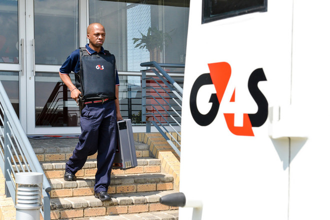 Cash collection G4S South Africa