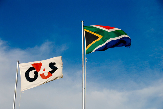 G4S and SA flags