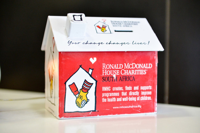 Ronald McDonald House Charities tins
