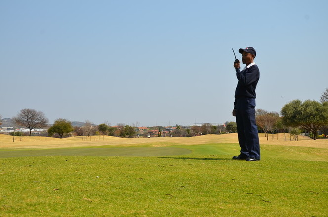 Security Officer at golf estate