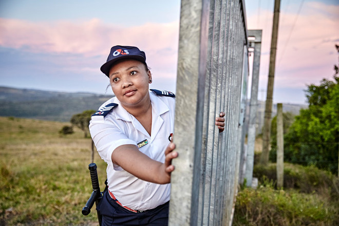 Security Officer at wind farm in Port Elizabeth, South Africa