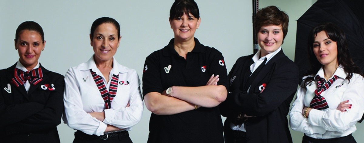 G4S female staff