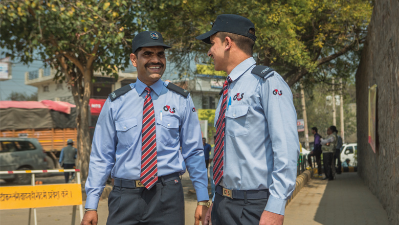 G4S Staff in India