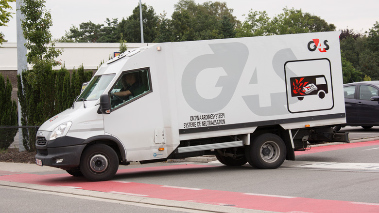 G4S geldtransport