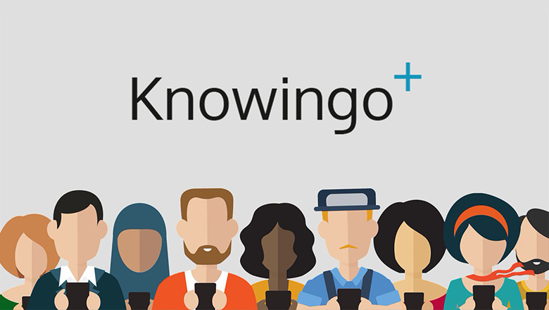 Knowingo people graphic