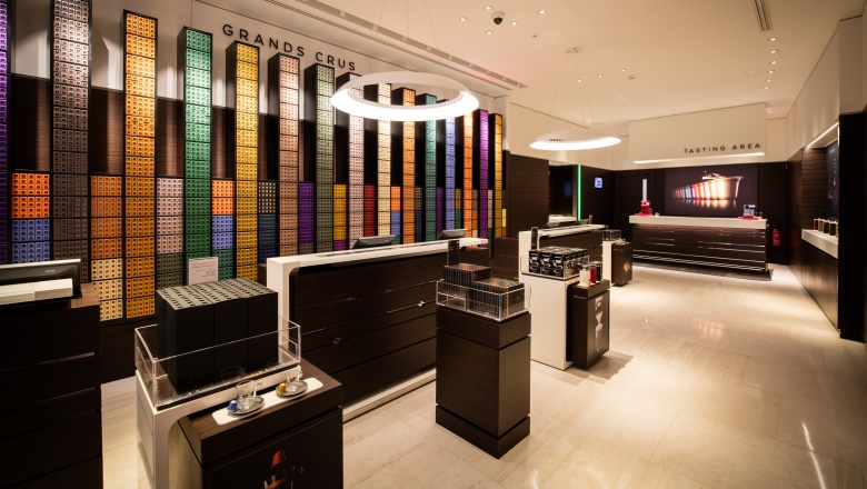 Nespresso boutique