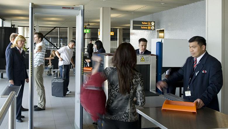 Visitatie Luchthavenbeveiliging G4s Nederland