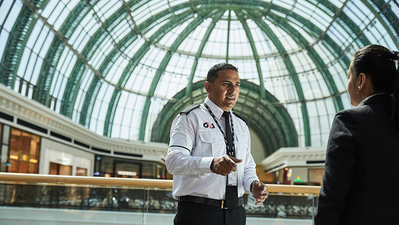 UAE, Security, G4S, Mall, Technology