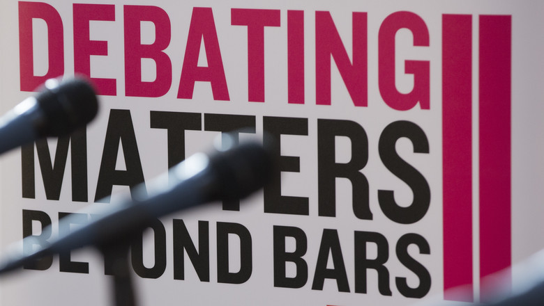 Debating matters beyond bars